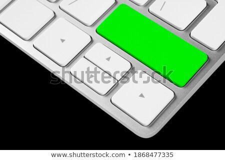 Pressing Green Button Vote on Black Keyboard. Stock photo © tashatuvango