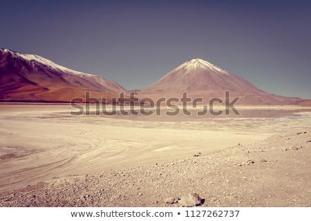 Clear altiplano laguna in sud Lipez reserva, Bolivia Stock photo © daboost