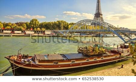 大聖堂 パリ 赤 川 戻る ストックフォト © craig