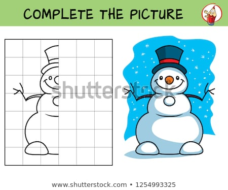 maze  what is pictured new year Stock photo © Olena