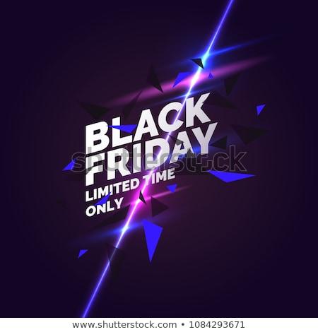 Black friday résumé géométrique design fond Photo stock © SArts