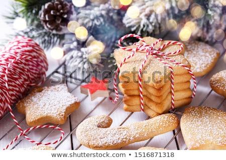 Christmas shortbread cookies stock photo © Lana_M