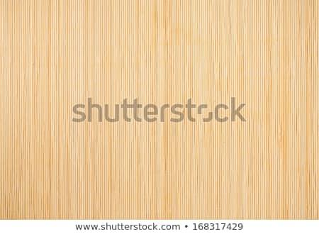 Bamboo Mat Background Foto d'archivio © Sailorr