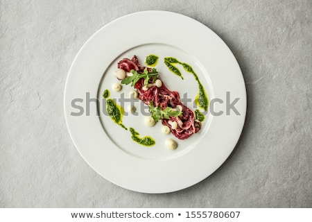 Delicious starter plate Stock photo © grafvision
