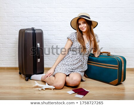 Staycation Not Vacation Home Holiday Concept Stock photo © ivelin