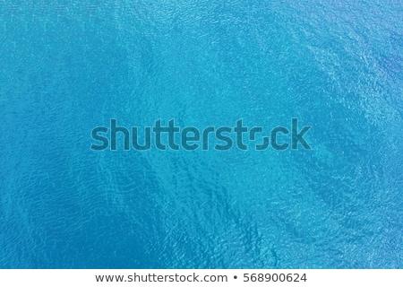 selymes · mély · kék · medence · víz · természetes · fény - stock fotó © boggy