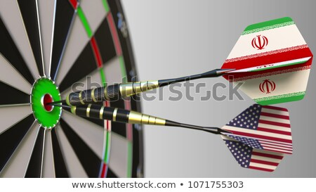 Iran United States Concept Stock photo © Lightsource