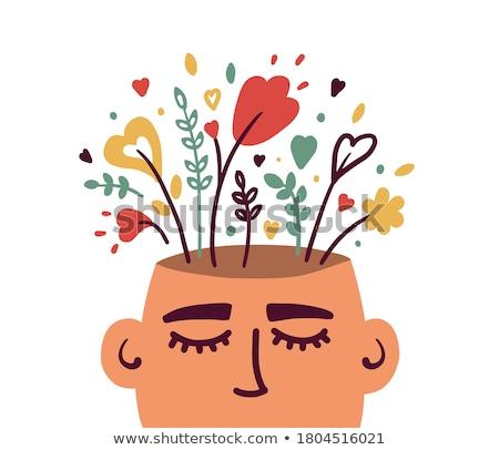 Positive Thinking Psychology Stock photo © Lightsource