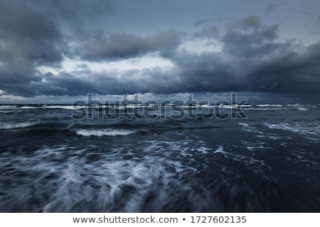 Dark stormy sea Stock photo © nomadsoul1