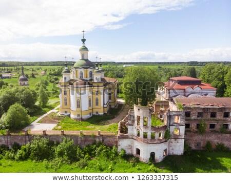 Ascension Cathedral, Totma, Russia Stock photo © borisb17