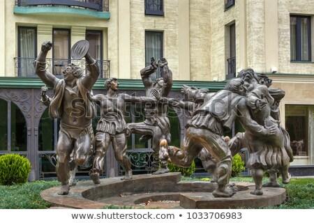Escultura grupo Georgia vacaciones ciudad danza Foto stock © borisb17