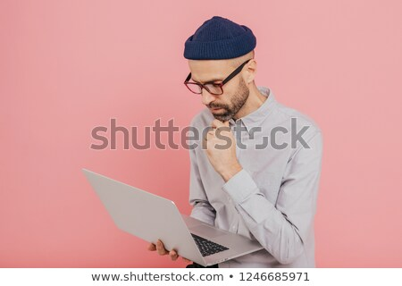 Experiente masculino freelance novo estratégia moderno Foto stock © vkstudio