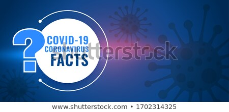 covid19 coronavirus facts and question and answer background Stock photo © SArts