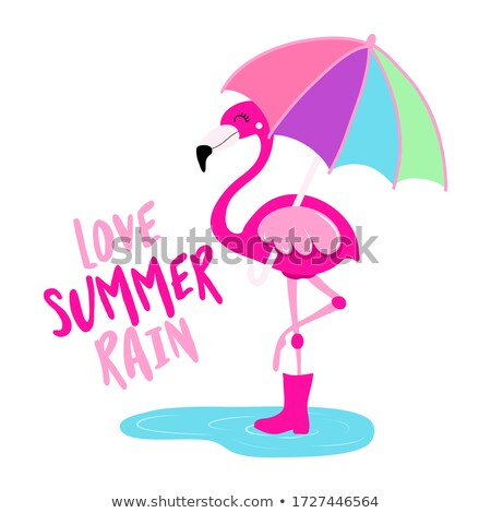 Amore estate pioggia motivazionale citazioni mano Foto d'archivio © Zsuskaa