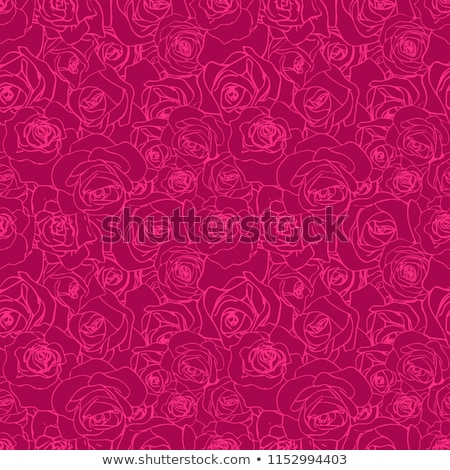 Gyönyörű rózsaszín skicc lila végtelen minta mély Stock fotó © evgeny89