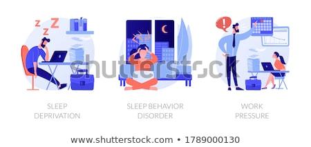 Emotional burnout vector concept metaphor Stock photo © RAStudio