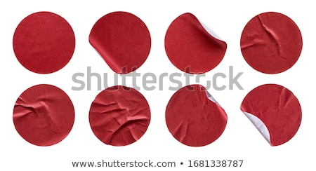 conjunto · adesivos · fresco · cores - foto stock © fotoscool