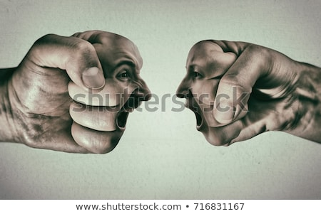 Gender confrontation Stock photo © timbrk