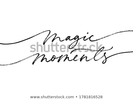 magic moments stock photo © silent47