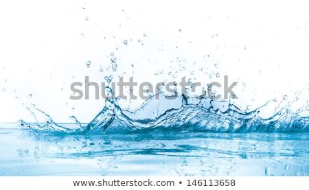 Dynamiczny niebieski wody streszczenie Zdjęcia stock © Krisdog