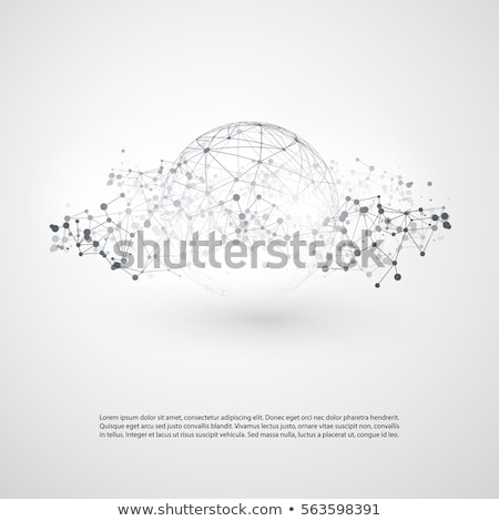 Cloud Computing Sphere stock photo © kbuntu