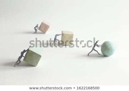 Bol woord strategie witte business Stockfoto © kbuntu