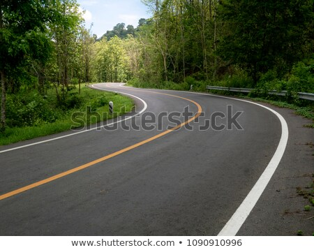 highway with road markings Stock photo © Iscatel