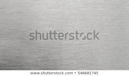 zilver · metaal · metaal · textuur · groot · kunst · element - stockfoto © redpixel