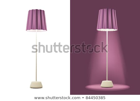 nice tall floor lamp stock photo © ozaiachin