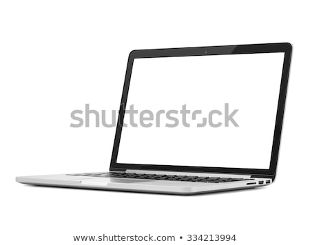 books and open a apple on a white background stock photo © justinb