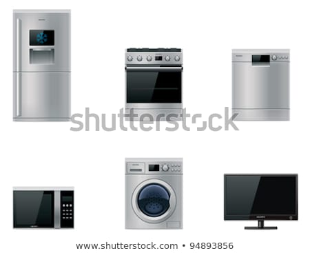 vector major appliances set stock photo © tele52