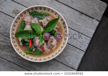 fermented shrimp paste Stock photo © zkruger