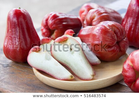 red rose apples stock photo © alexeys
