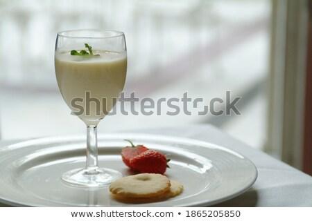 два мята стебель изолированный белый продовольствие Сток-фото © smithore