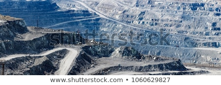 In the asbestos quarry Stock photo © Nobilior