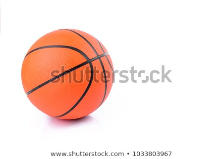 Basketball on a White Background Stock photo © saje