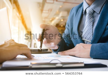 Business consultant on phone Stock photo © photography33