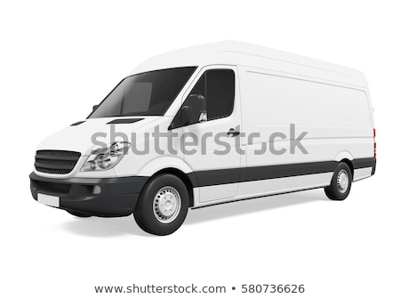 3d van on a white background Stock photo © chrisroll