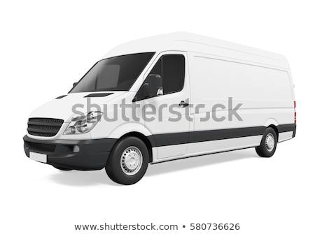 3d van on a white background Stock photo © chrisroll