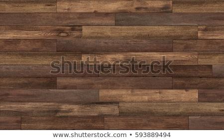 Madera piso imagen cereza nuez vetas de la madera Foto stock © cr8tivguy