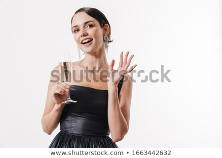 Women toasting with champagne Stock photo © photography33