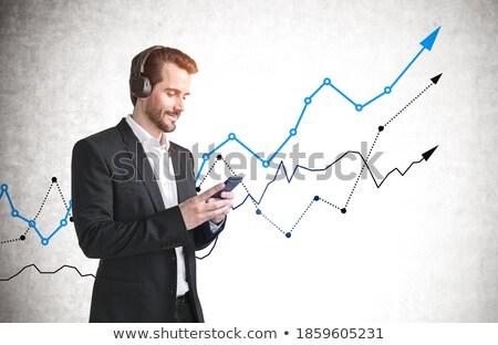 Future On Smartphone Showing Forecasts stock photo © stuartmiles