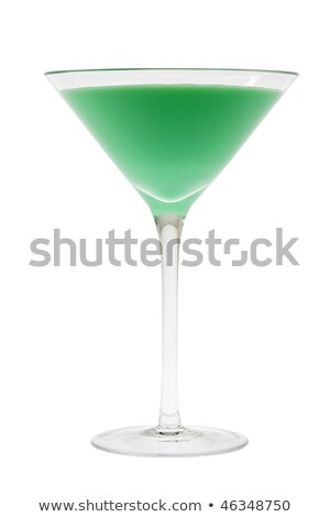 grasshopper mixed drink on white background stock photo © shutswis