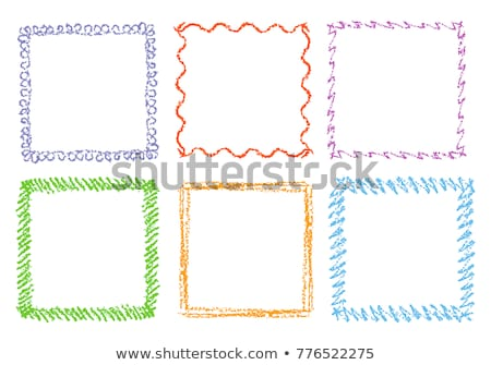Pencil frame Stock photo © icefront
