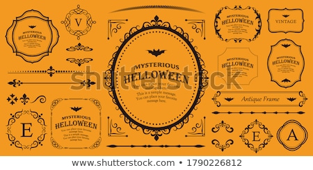Halloween frame stock photo © WaD