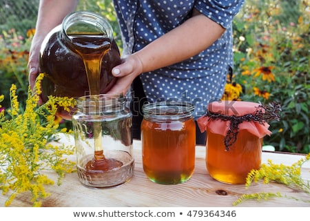 Woman tasting honey Stock photo © photography33