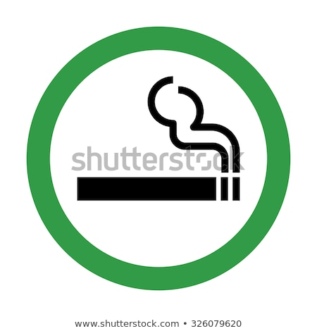 Smokers area icon  Stock photo © Myvector