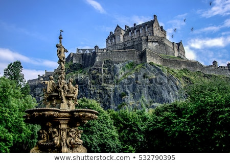Edinburgh castle Stock photo © Hofmeester