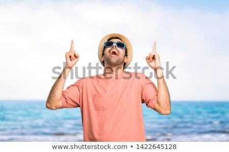 Stockfoto: Groot · vakantie · boot · meer · hemel · natuur