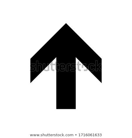yukarı · el · adam · takım · elbise - stok fotoğraf © eldadcarin